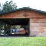 Coffman Barns, Wood Sided Horse Barns