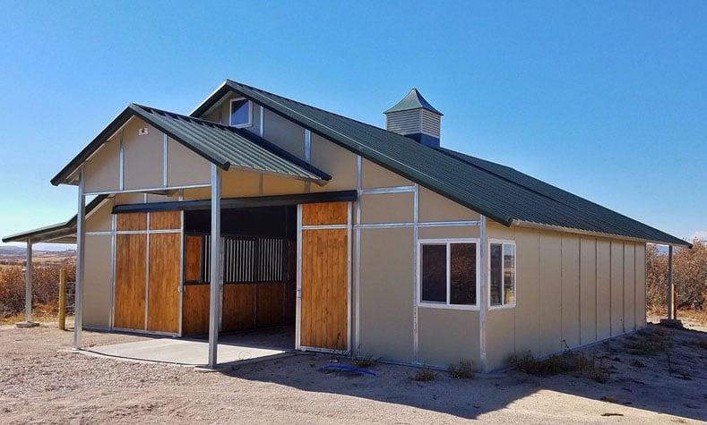 Coffman Barns Gable Horse Barns
