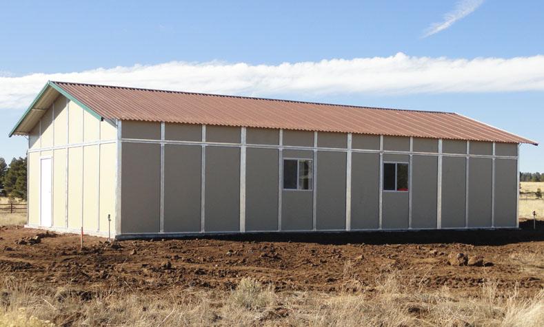 Custom Modular Buildings Garage Storage Workshop