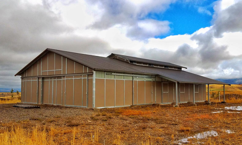 RCA Horse Barns, Coffman Barns