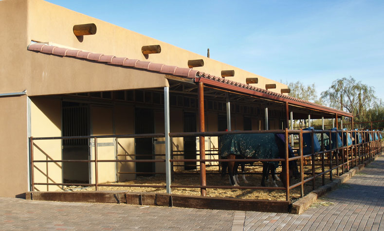 Wood Sided Horse Barns Stucco Sided Horse Barns Coffman