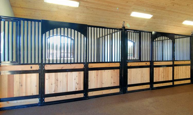 Coffman Barns Elite Series Horse Stalls