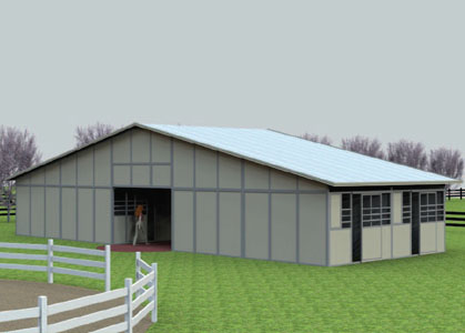 Coffman Barns Barn Building Plans Back to Back