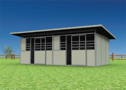 Coffman Barns Barn Building Plans Shedrow