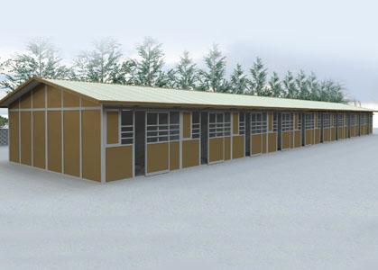 Coffman Barns Barn Building Plans Modular Shedrow