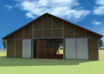 Coffman Barns Barn Building Plans Barn Kits
