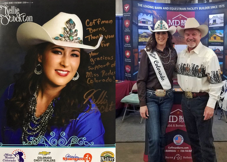 Miss Rodeo Colorado 2019, Coffman Barns Supporter