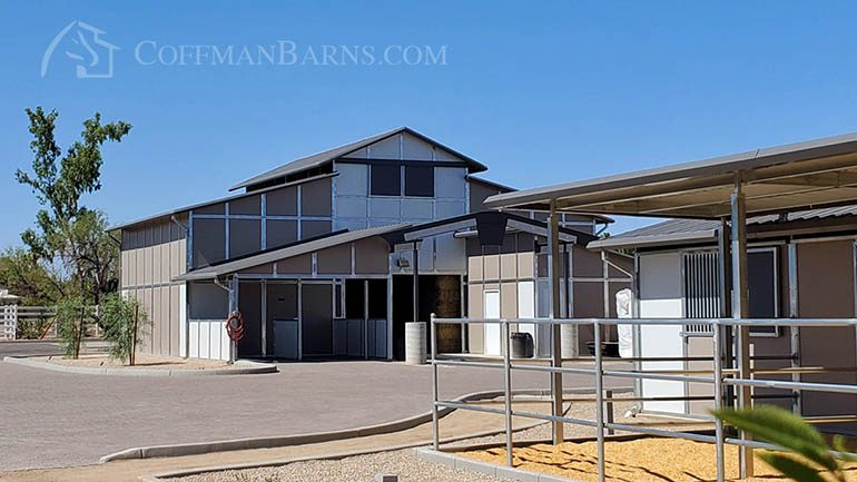 Coffman Barns Custom Equestrian Facility Builder