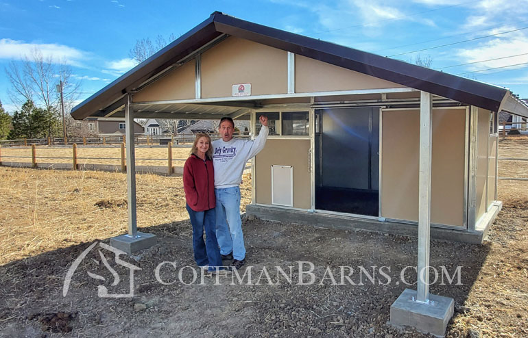 Goat Barn Littleton Colorado Project