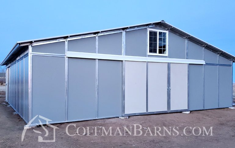 Coffman Barns Keenesburg Colorado Barn Project 1