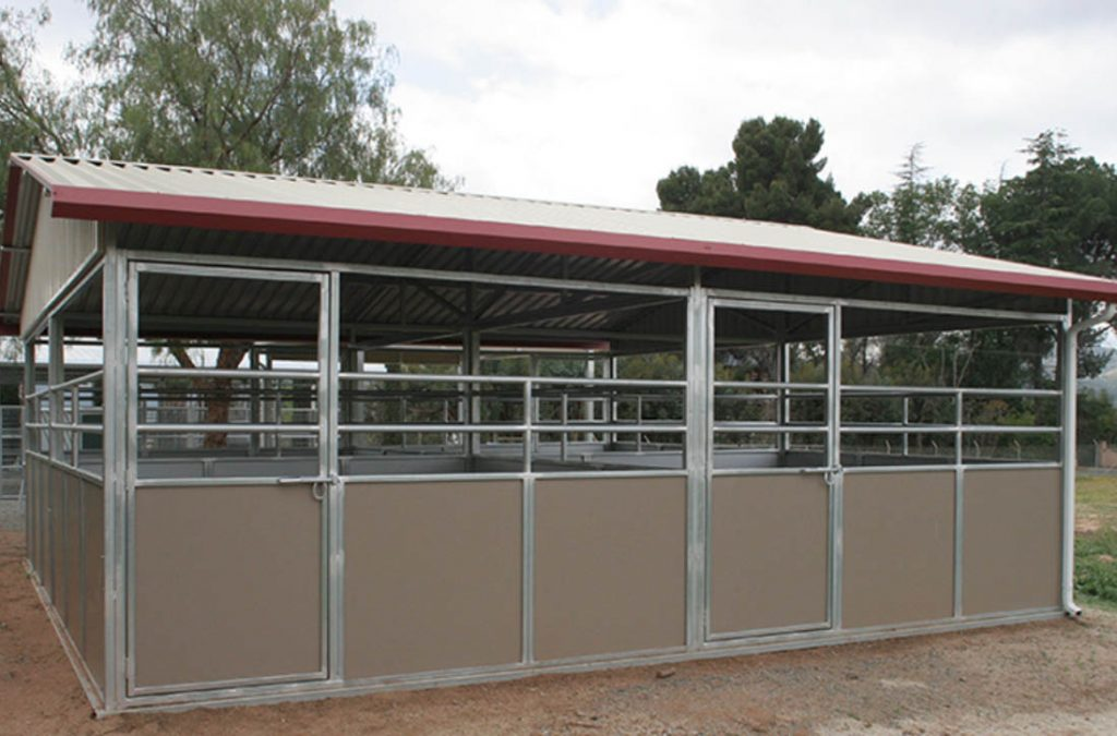 FCP Frontier horse stall front 1