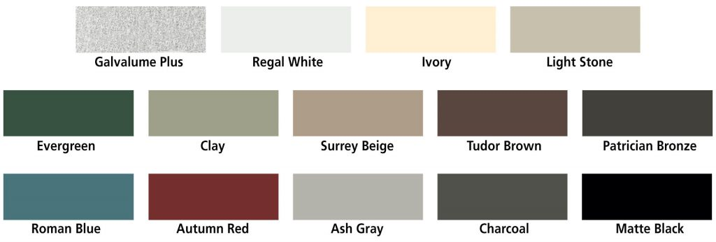 FCP Barn Roof Standard Colors