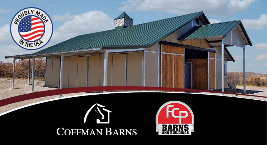 Coffman Barns Partners with FCP Barns-