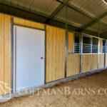 Parker Colorado barn project by Coffman Barns
