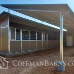Prescott Arizona barn project by Coffman Barns 3
