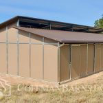 Prescott Arizona barn project by Coffman Barns 4