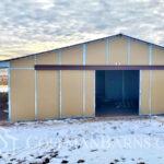 Loveland Colorado barn project by Coffman Barns